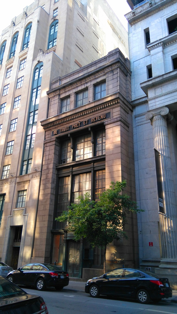 Buildings à Montréal