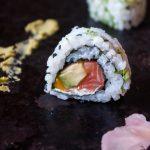 California rolls saumon avocat