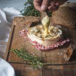 Camembert rôti au sirop d'érable