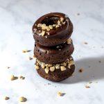 Donuts chocolat cacahuètes sans friture