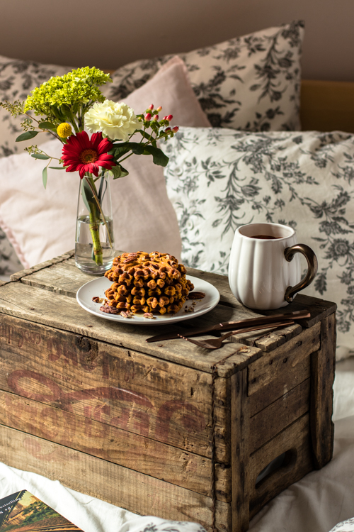 Gaufres à la citrouille facile | I Love Cakes