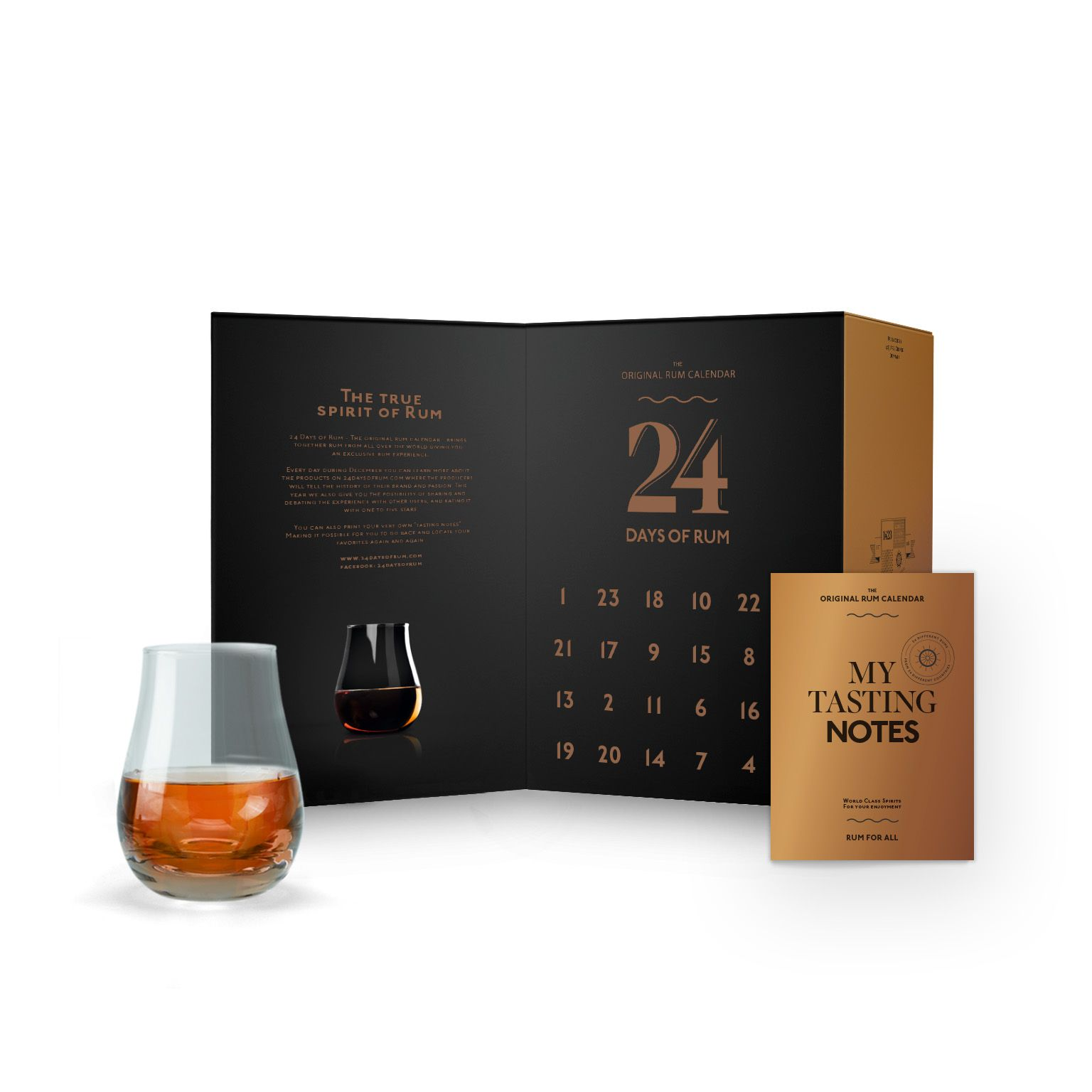 Calendrier de l'avent 2018 24 days of rum