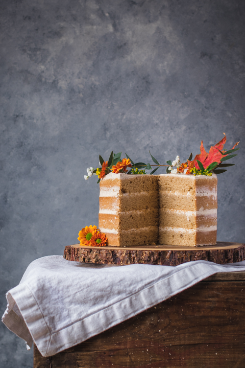 Layer cake aux épices chai | I Love Cakes