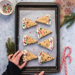 Shortbreads de Noël cranberries et pistaches | I Love Cakes