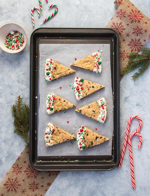 Sablés cranberry et pistache pour Noël | I Love Cakes