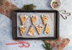 Shortbreads cranberries pistache pour Noël | I Love Cakes