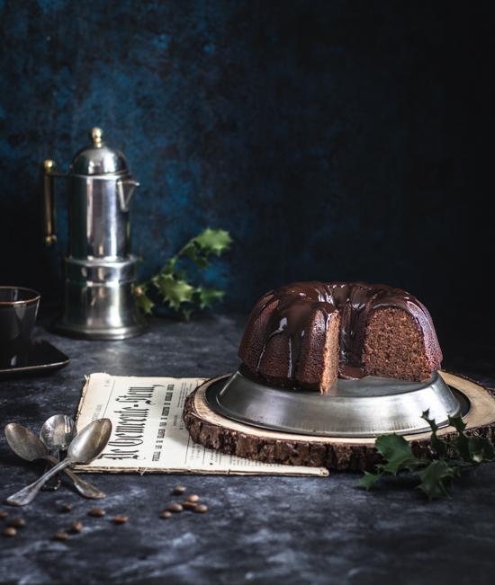 Gâteau moelleux café chocolat | I Love Cakes