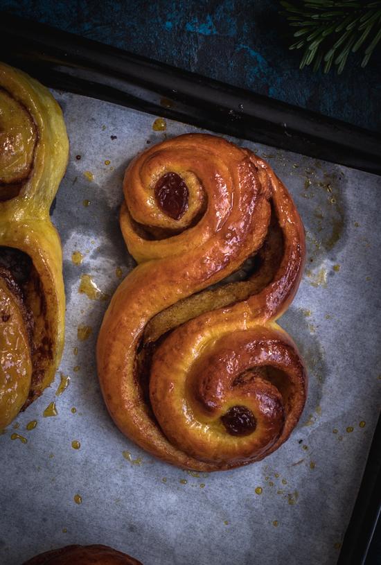 "Brioches suédoises ""Lussekatter"" | I Love Cakes"