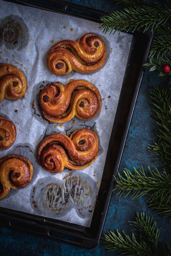 Brioches suédoises au safran | I Love Cakes
