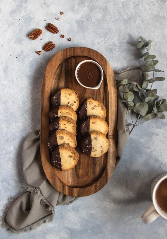 Sablés fondants noix de pécan et fleur de sel | I Love Cakes