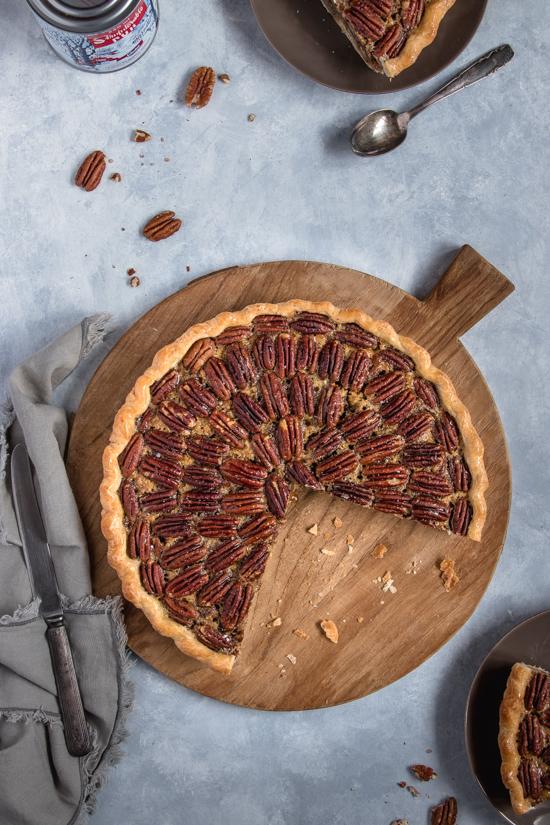 Pecan pie au bourbon et à la vanille | I Love Cakes