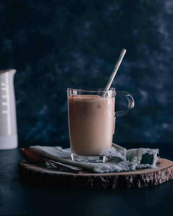 Latte érable cannelle et lait de soja