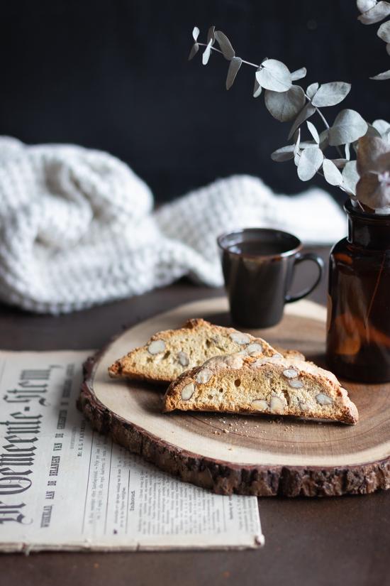 Biscotti italiens à tremper dans le café