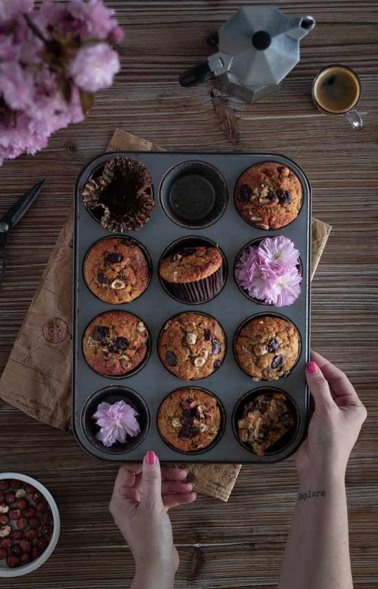 Muffins choco noisette Starbucks