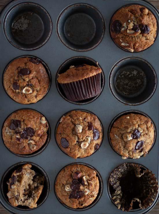 Muffins noisette