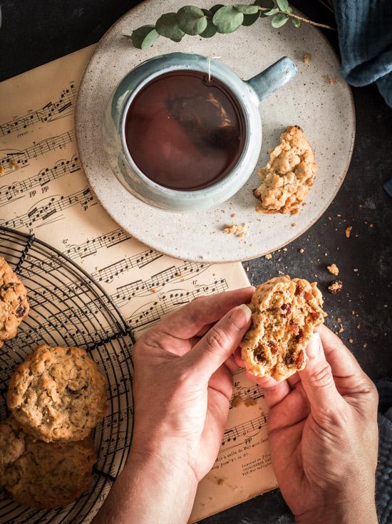 Cookies moelleux aux flocons d'avoine