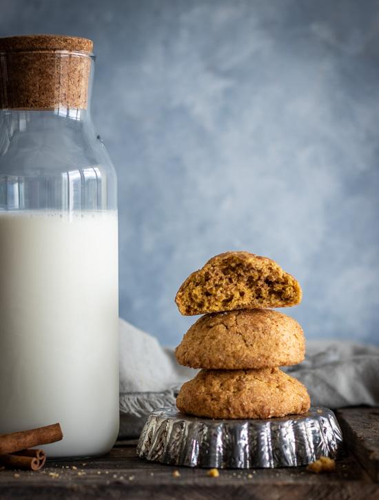 Biscuits moelleux à la citrouille et épices