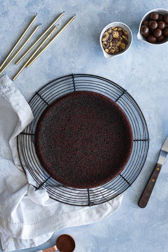 Gâteau au chocolat et Maltesers