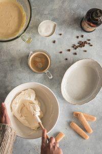 Crème mascarpone pour tiramisu