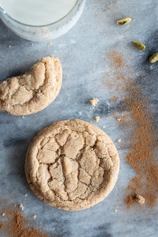 Cookie aux épices chai